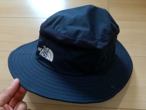 ノースフェイスの夏用帽子