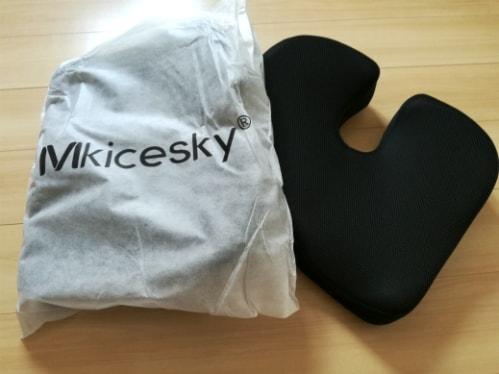 Mkicesky 座布団 低反発クッション