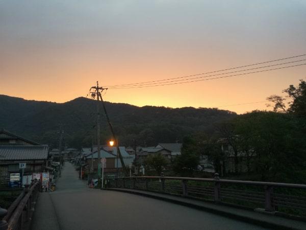 伊勢神宮の早朝参拝