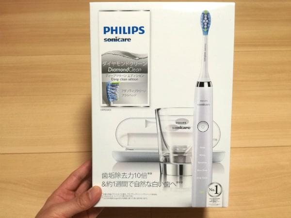 フィリップス ソニッケアー ダイヤモンドクリーン ディープクリーンエディション 電動歯ブラシ