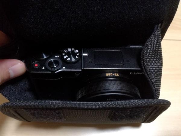 ルミックス TX1のカメラケース