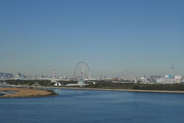 サンルートプラザ東京の景色